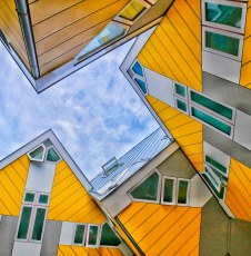 "Rotterdam's ""Cube Houses"""