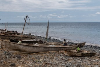 De volgende generatie schippers oefende alvast op het droge.