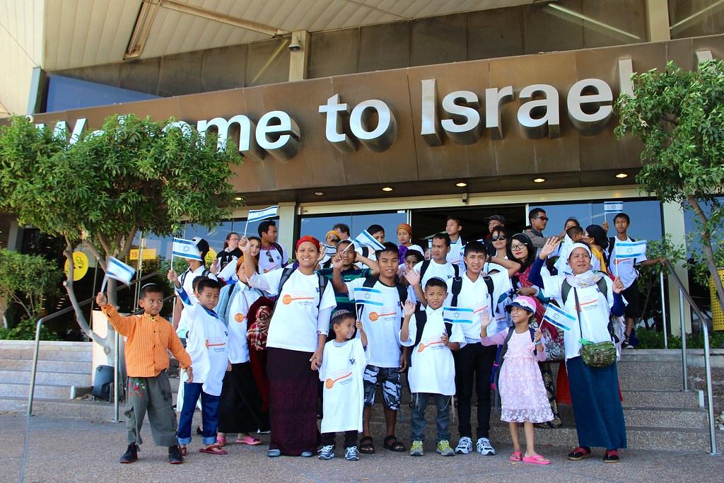 Bnei Menashe arrival in Israel