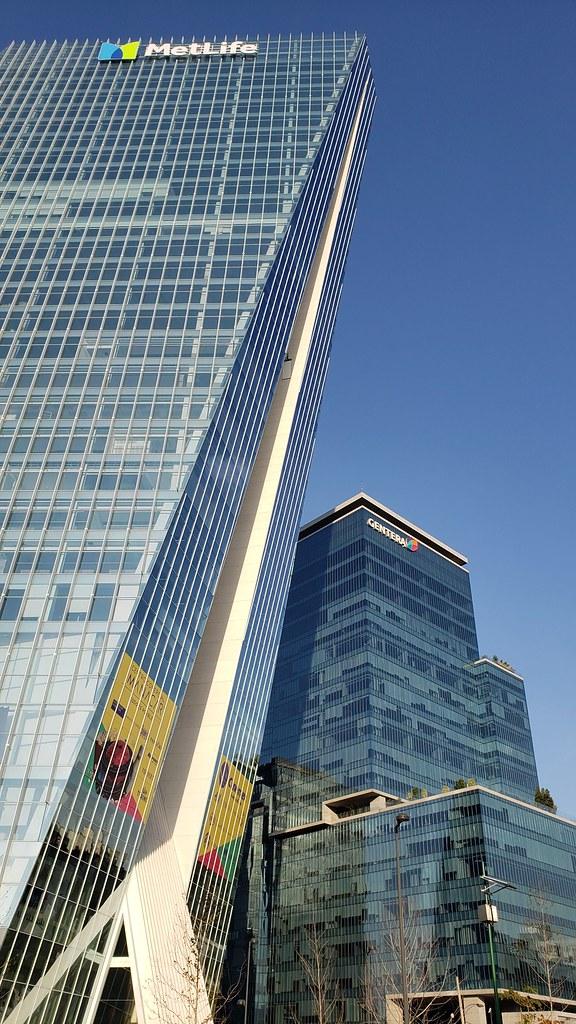 Torre Manacar Y Torre Origami Insurgentes Mixcoac