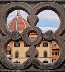 View from a Uffizi Gallery Terrace