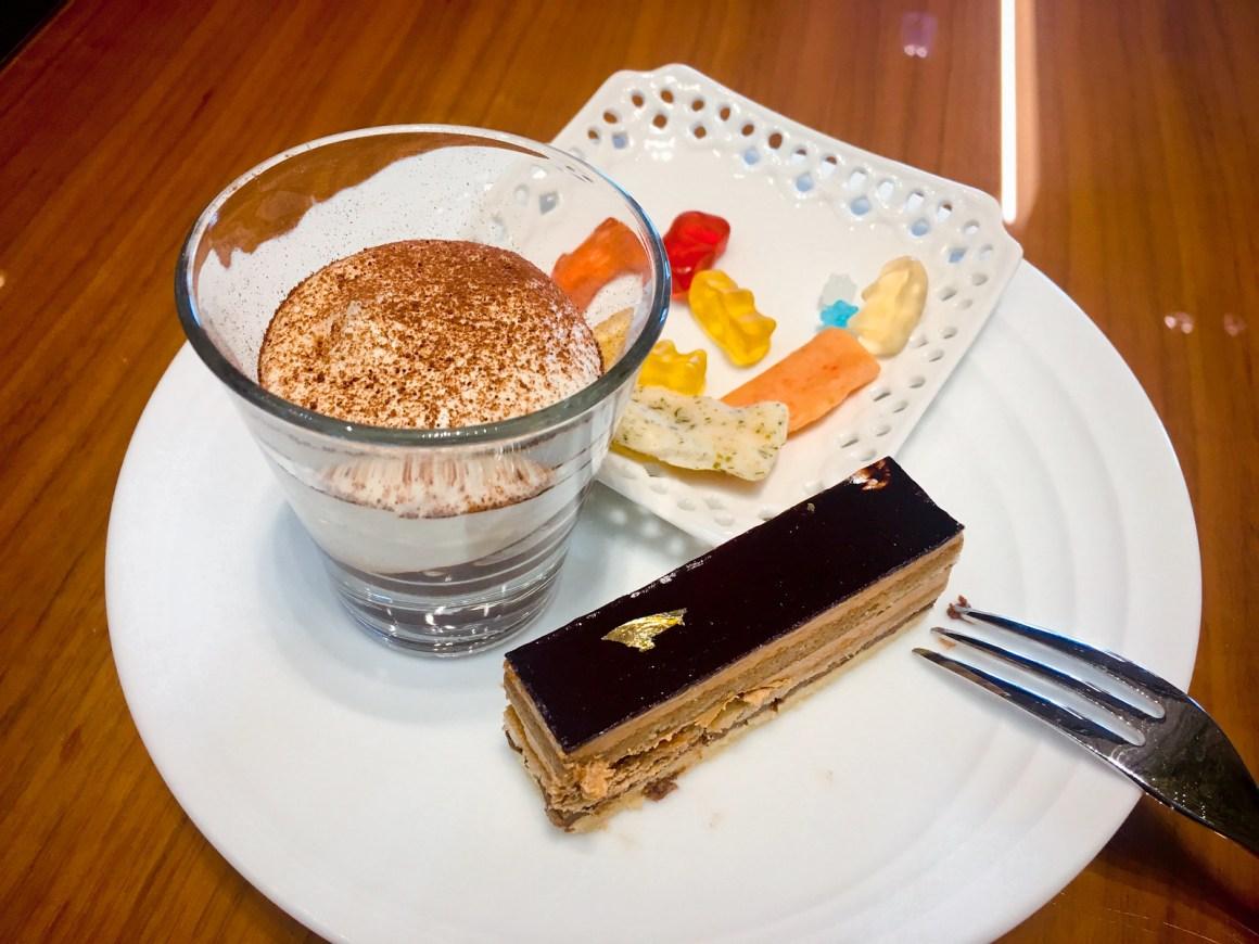 大阪萬豪都酒店 行政酒廊點心甜品