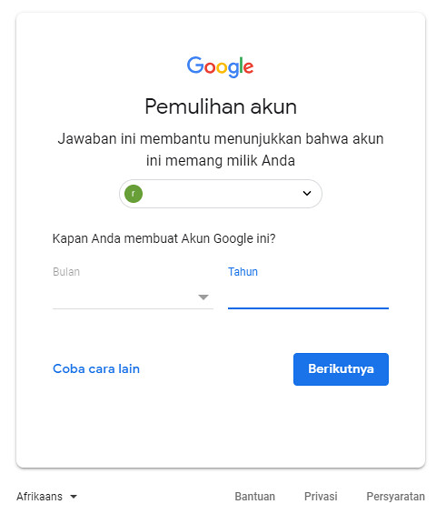 recovery password 2 alifashifan.com