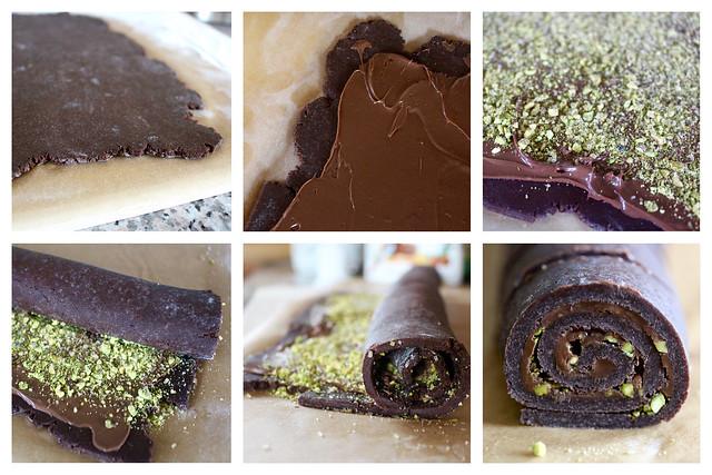 Chocolate Pistachio Rugelach - 38