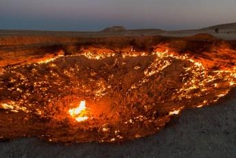 De krater heeft een doorsnee van zo'n 70 meter!