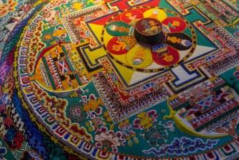 Daarna gingen we naar het Sera klooster om o.a. een echte Mandala te bekijken.
