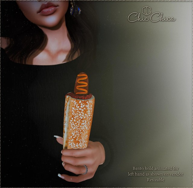 French Hotdog by ChicChica for the Saturday Sale 75 lindens