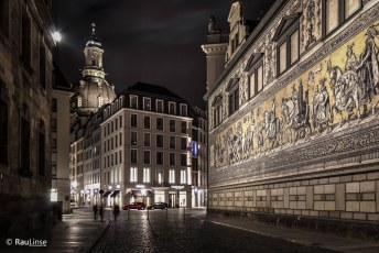 Dresden - Augustusstrasse