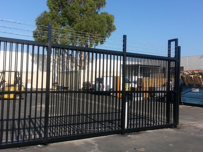 Commercial Gate Bel Air - Parking Lot Gates Los Angeles - Security