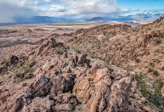 Borrego Sink from above The Slot