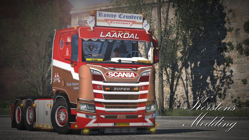 Ronny Ceusters Scania R low roof