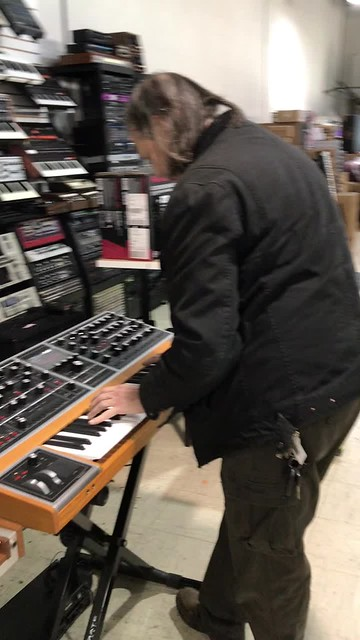 A test drive of the new Moog One
