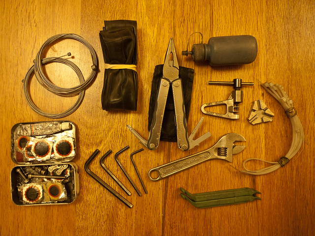 Basic Bicycle Repair Tool Kit
