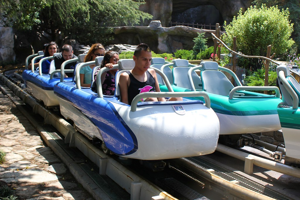 All the disneyland rides in detail with height requirements, seating arrangements,. Matterhorn Bobsleds 2012 Update Inside The Magic Flickr