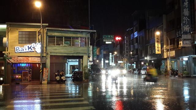 Old House at a rainy night