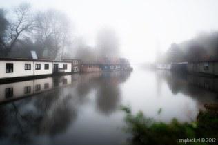 89 seconds of mist / Noorderkanaal / Blijdorp / Rotterdam