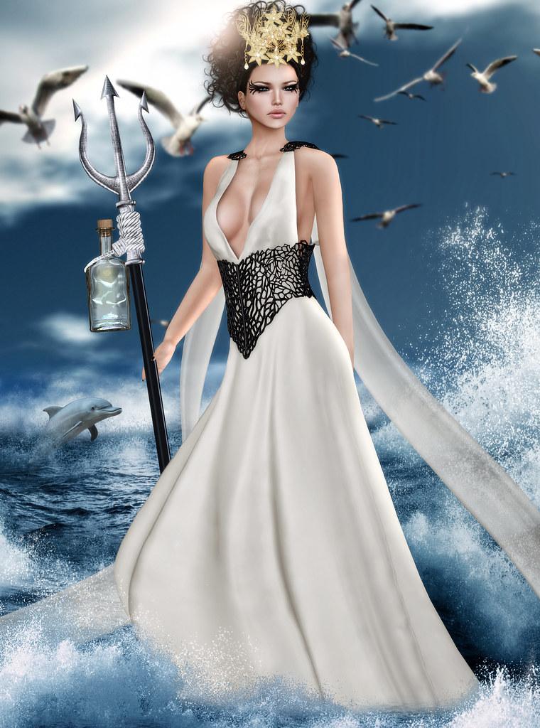 FTH Casting Greek Mythology Amphitrite Goddess Of The Flickr