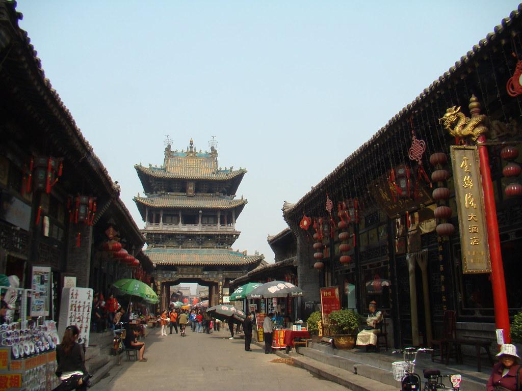 Torre del Mercado Ciudad vieja de Pingyao China Patrimonio de la Humanidad Unesco 06