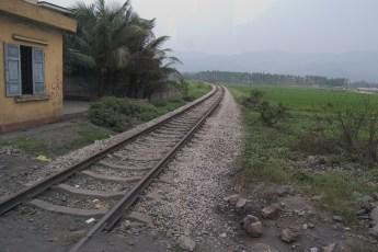 Eisenbahnlinie von Ha Long nach Hanoi