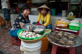 Fischverkäuferinnen