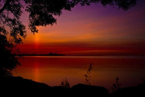 Another beautiful Toronto sunrise.