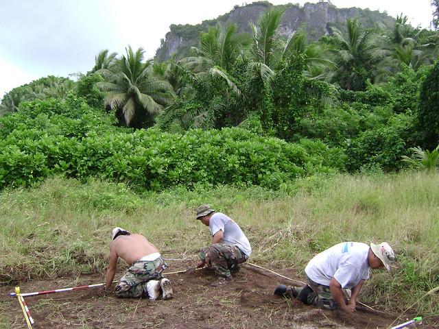 Archeology at Ritidian