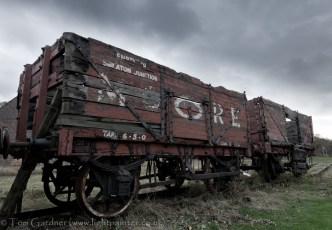 Old mining train