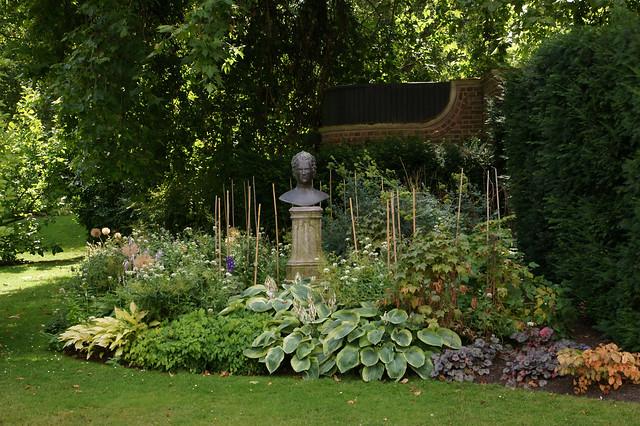 The Clarence House garden