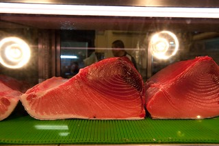 blue fin tuna meat