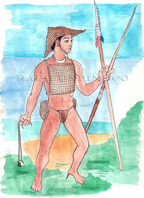 Ancient Chamorro Warrior