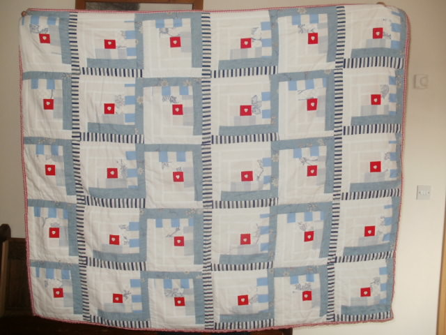 Shannon's Log Cabin Quilt