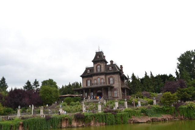 Phantom Manor from Big Thunder Mountain