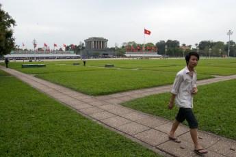 Platz vor Ho Chi Minh Mausoleum