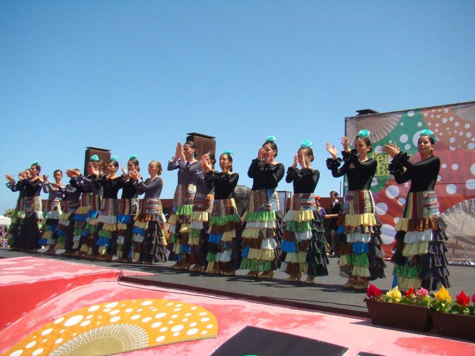 Grupo Ana Manrique en la IV Feria de Abril de Las Palmas de Gran Canaria 06