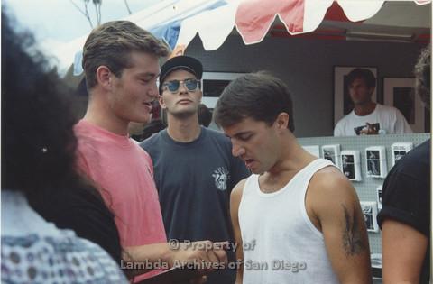 P001.033m.r Pride 1991: 3 men