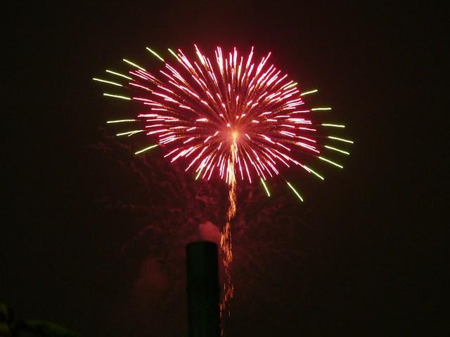 Fireworks at Sumida-gawa River