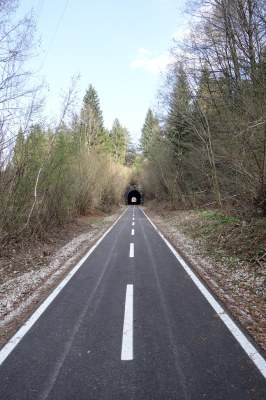 On the way to the Tarvisio / Ratece border into Slovenia