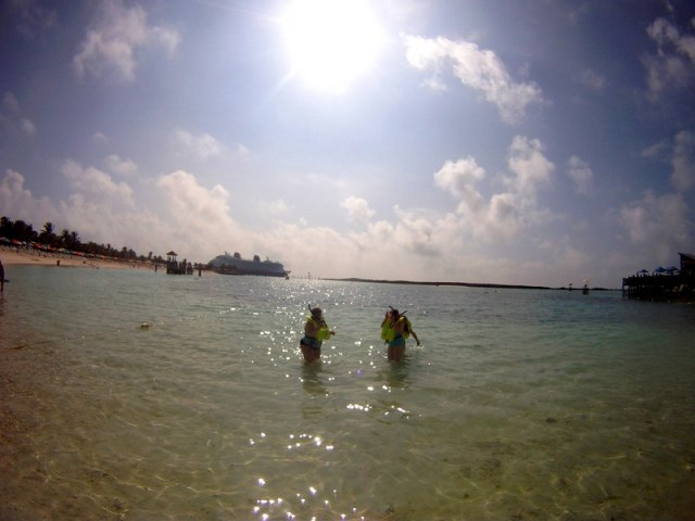 Snorkel lagoon - Castaway Cay