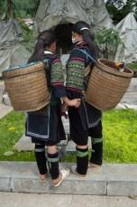 Hmong-Mädels