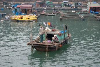 Cat Ba City - Stadtteil am Wasser 2