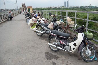Long Bien Brücke