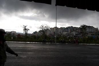 Es regnet in Da Lat