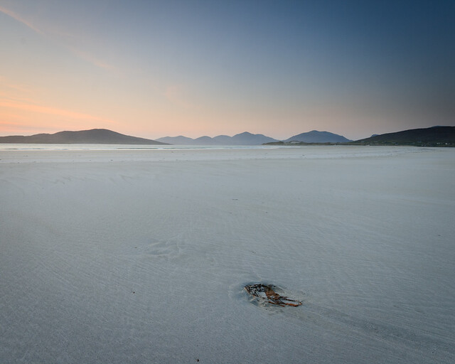 Deserted Beach, Seilebost, Harris