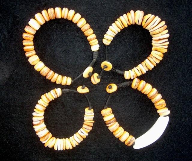 Cupping Spondylus and Sinahi Bracelets