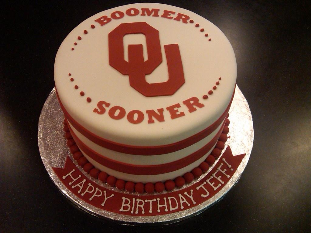 Ou Sooners Cake April Flickr