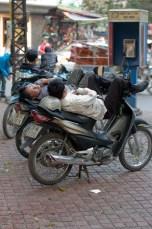 Sleeping MotoTaxi