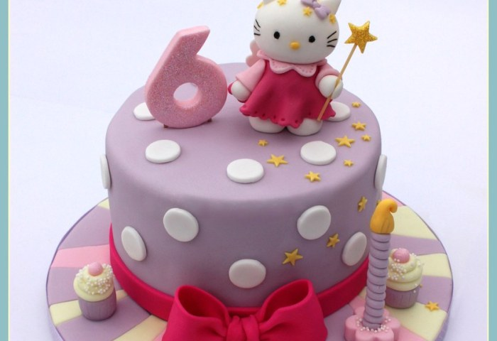 Hello Kitty Birthday Cake The First Hello Kitty Birthday C Flickr