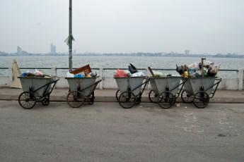 Müll-Trolleys