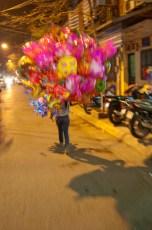 Balonverkäuferin