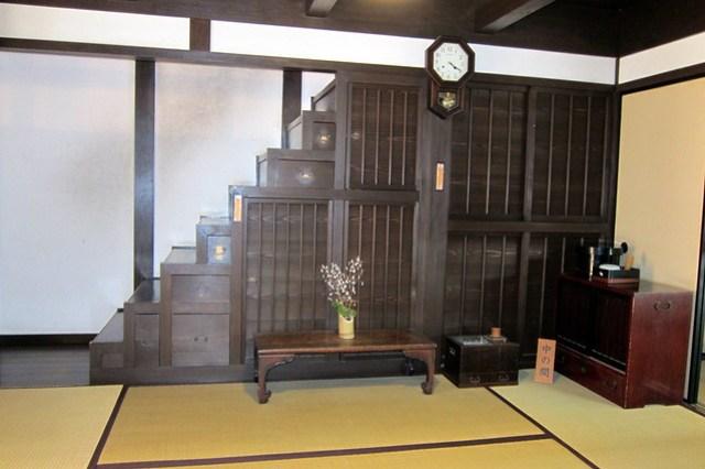 Nara - Naramachi: Koshi-no-Ie - Hako-kaidan